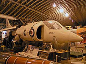 Hawker Siddeley Harrier (Bristol Aero Collection).
