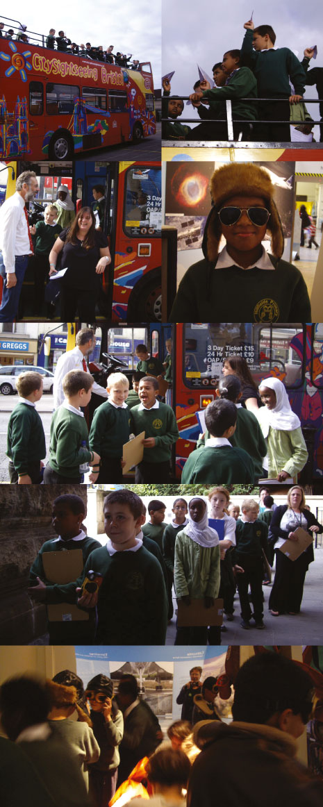 Year 5 had a trip to the Flight exhibition on 21 October by open-top bus, thanks to City Sightseeing Bristol.